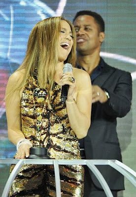 jlo jennifer lopez en los premios music awards 2010