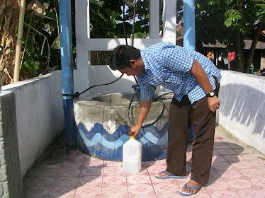 Uji petik air pada SGL