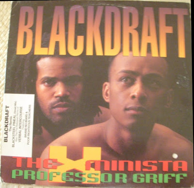 Professor Griff Amp Society Blackdraft 1993 Vls