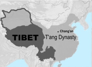 Tibet during T'ang / Tang Dynasty