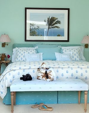 palm tree theme bedroom