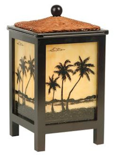 And A Palm Tree Lamp That Glows From Within From Lamps Plus.