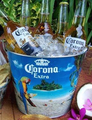 corona beach bucket