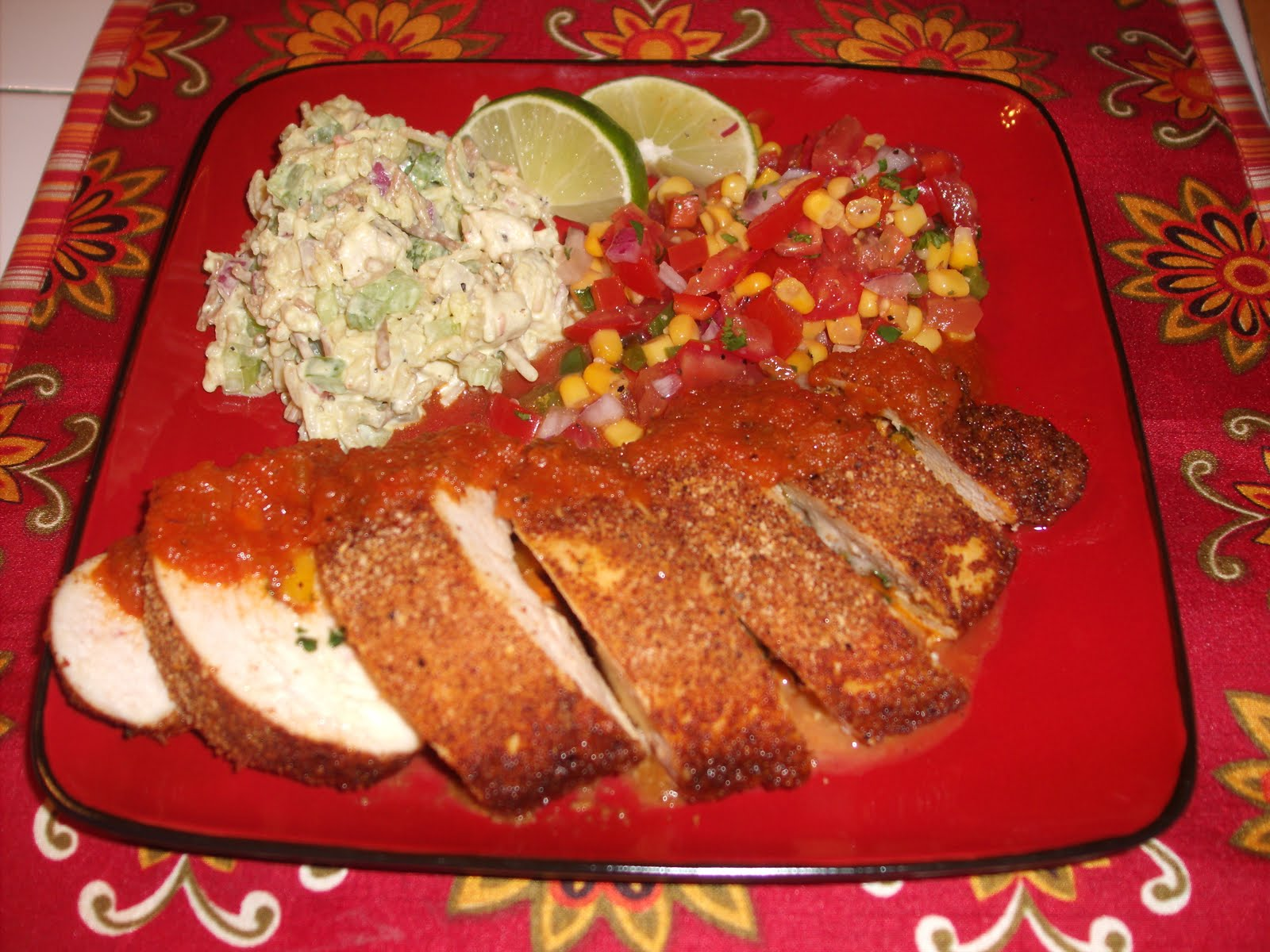 As I live and breathe: Baked Southwest Chicken Breasts ...
