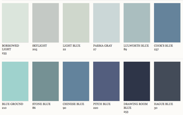 Here are some more interiors painted in Farrow and Ball colours from ...
