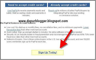 Panduan Cara Mendaftar Paypal