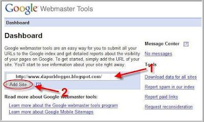 google verify meta tag