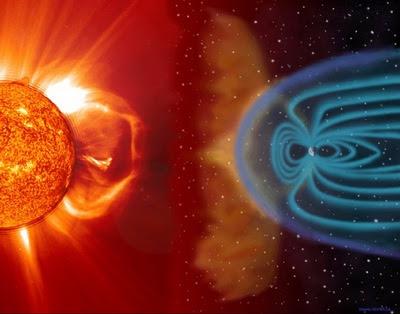 interaccion de la tierra con el sol: