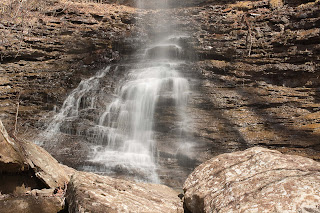 Photograph of Kings Bluff Falls