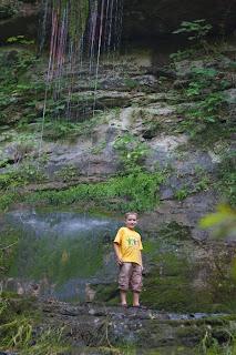 Daniel at Mossy Falls