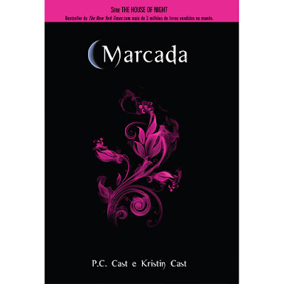 Capa do livro House of Night - Marcada