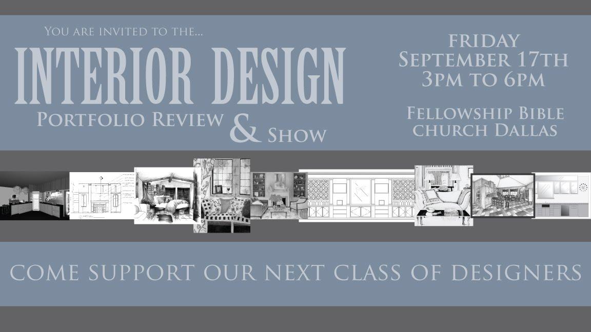AiD Interior Design Portfolio Show