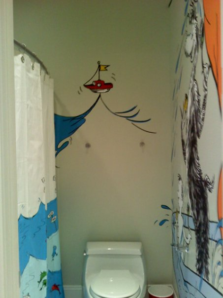 Genial Dr Seuss Bathroom