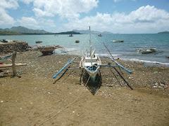 Panay Island coast