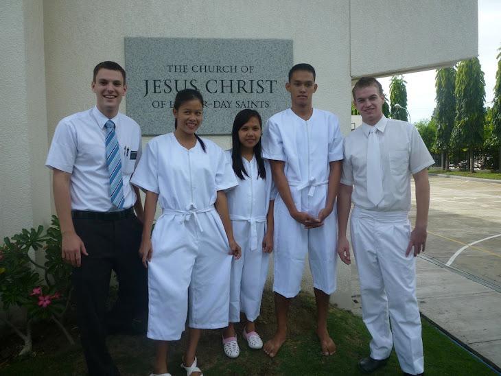 Baptism Rhea, Geneva & Dave