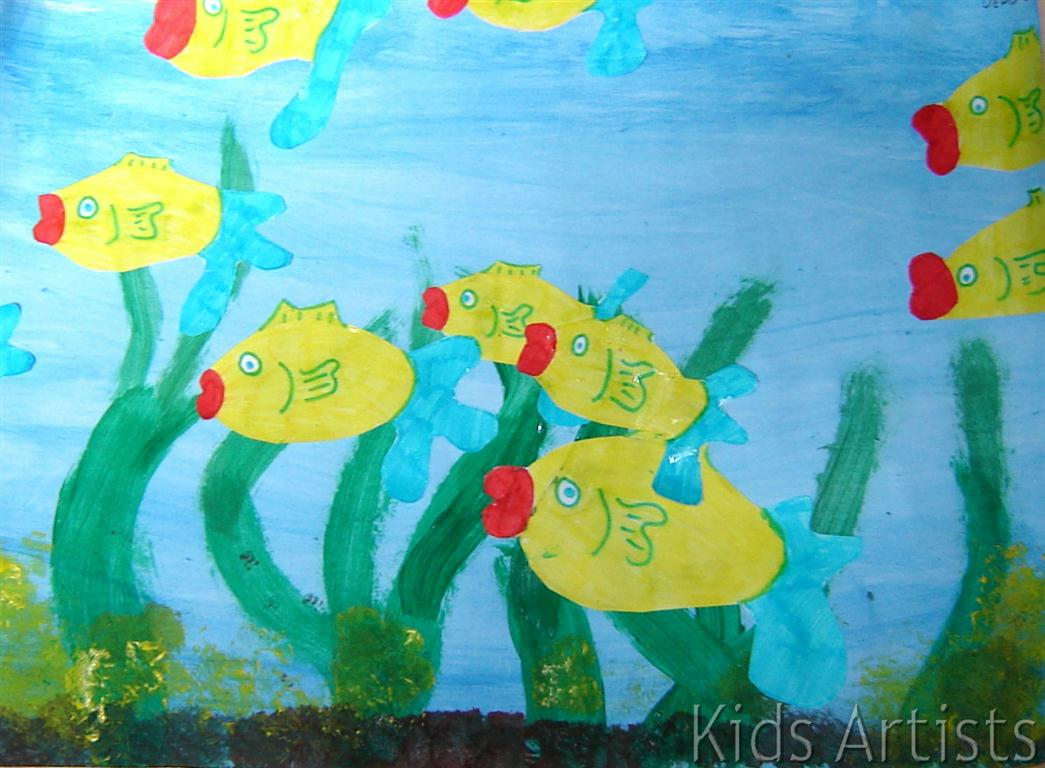 All artworks are made by children of 10 12 years old