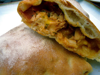 Stephanie Cooks: Barbecue Chicken Calzone