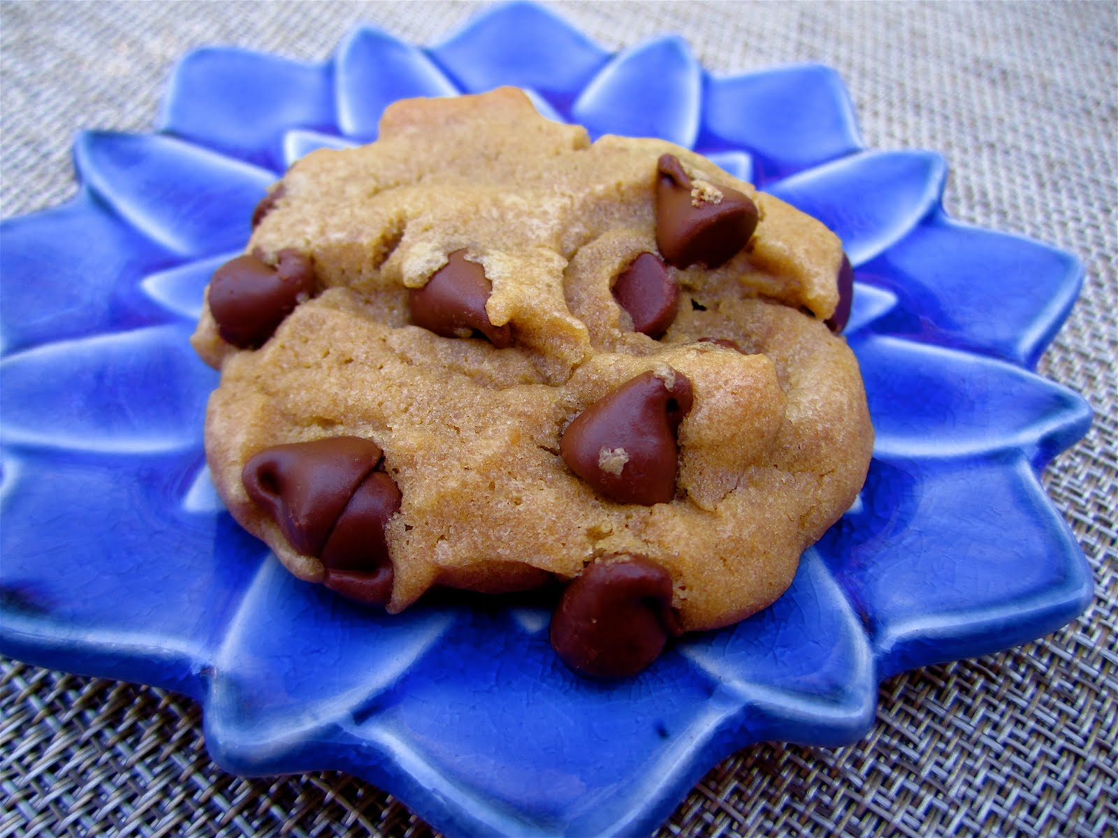 Stephanie Cooks: No Butter Chocolate Chip Cookies