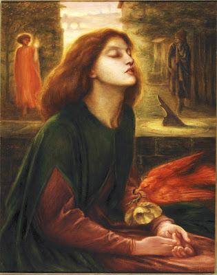pre Raphilite suicide painting