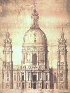 esbozo original, de la página web de la iglesia