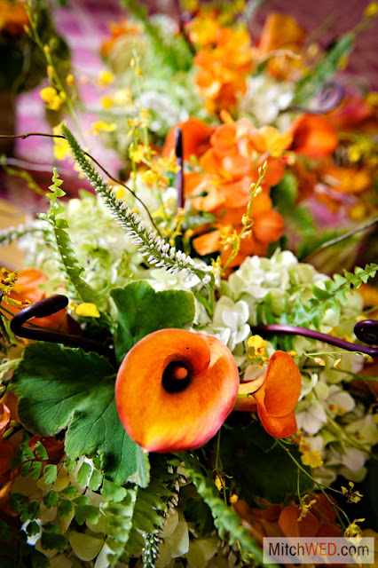 Calla Lily Centerpiece - Otesaga Resort Wedding - Splendid Stems Floral Designs