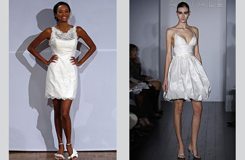 What do you think of the mini wedding dress I 39m actually really loving the