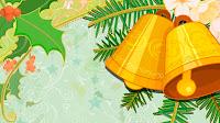 Christmas Bells Designer Background