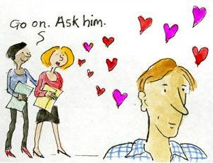 Valentines Day Comic Strip