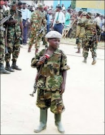Child Soldier Democratic Republic of The Congo 2008