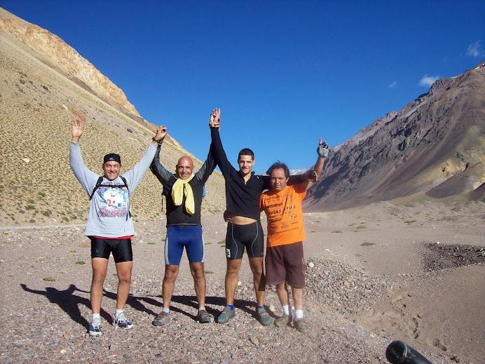 Tocando el cielo a los 4000mts