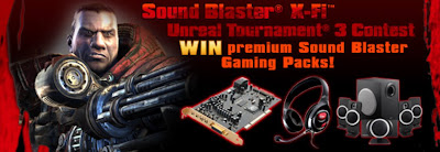 Creative Sound Blaster X-Fi Unreal Tournament 3 Contest