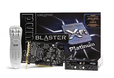 Creative Sound Blaster X-Fi Platinum
