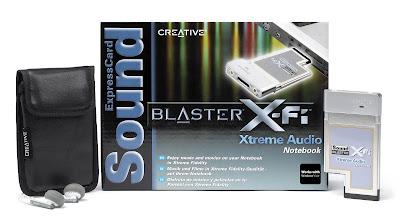 Creative Sound Blaster X-Fi Xtreme Audio Notebook