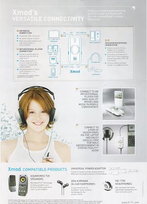 Brochure on Xmod and X-Fi