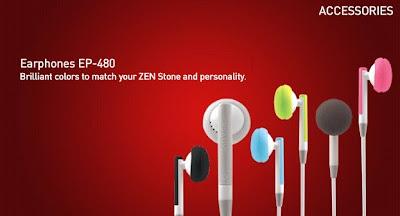 Creative Zen Stone Earphone