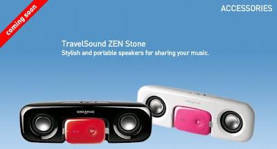 Creative Zen Stone Speaker Dock