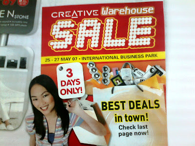 Creative Warehouse Sales