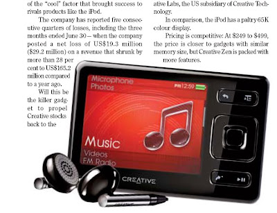 Creative ipod killer product