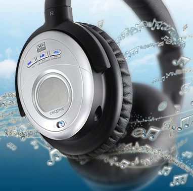 Aurvana X-Fi headphone