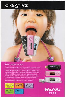Creative MuVo T200 Brochure
