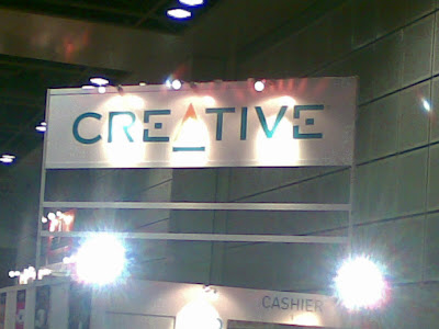 Exclusive: Creative Booth @ PC Show 2008