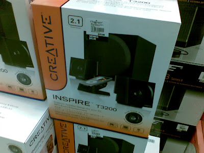 Creative Inspire T3200 And T6200 Fully Loaded