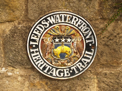 Leeds Waterfront Heritage Trail Plaque