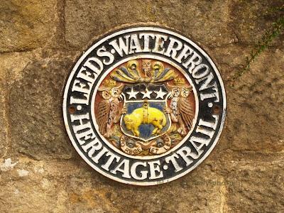 Leeds Waterfront Heritage Trail Plaque