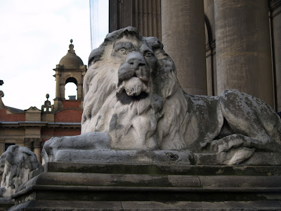 Lion Leeds Town Hall Headrow Leeds Yorkshire