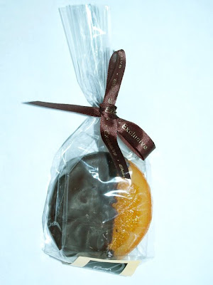 Candied Orange Chocolate covered