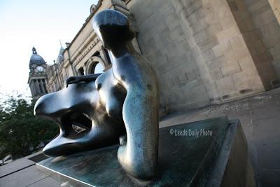Henry Moore Sculpture Leeds