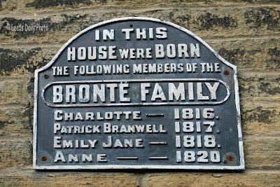 Bronte Birthplace Plaque