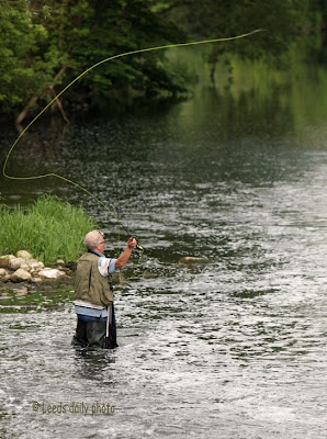 Fly Fishing River Aire Yorkshire