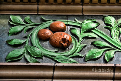 Pomegranate Frieze County Arcade Leeds